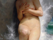 "Вильям Адольф Бугро (William Adolphe Bouguereau) ""Жемчужина 