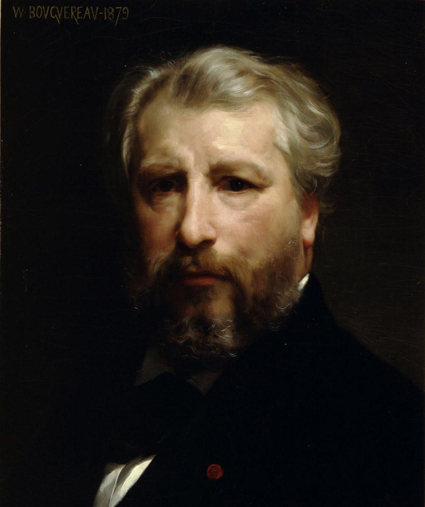 "Вильям Адольф Бугро (William Adolphe Bouguereau) ""Self-portraite 1879"""