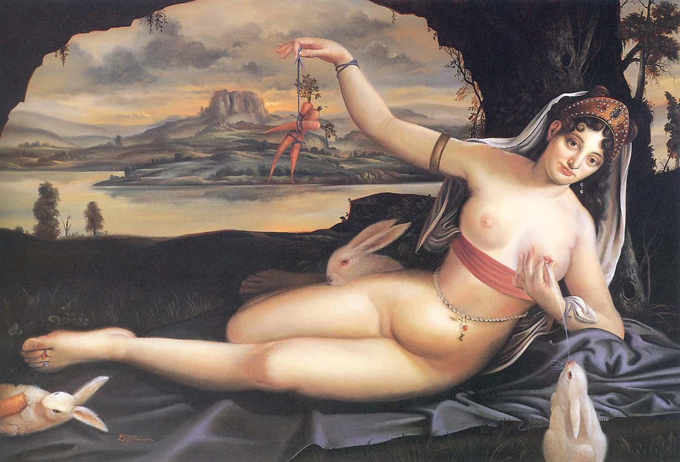 """Дэвид Бауэрс (David Bowers) """"Venus and rabbits"""""""