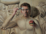 "Дэвид Бауэрс (David Bowers) ""The Secret (self portrait)"""