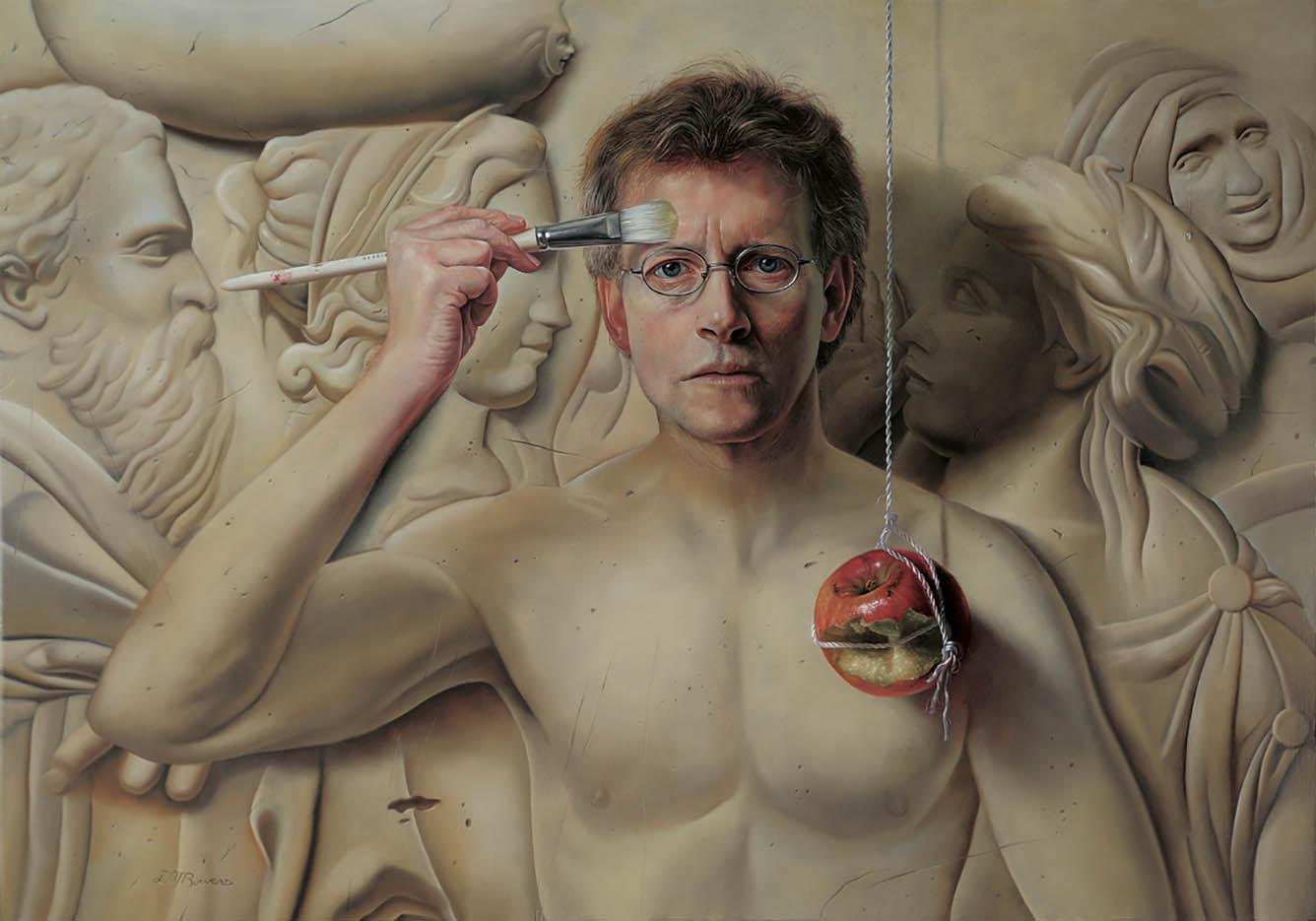 "Дэвид Бауэрс (David Bowers) ""The Secret (self portrait)"""