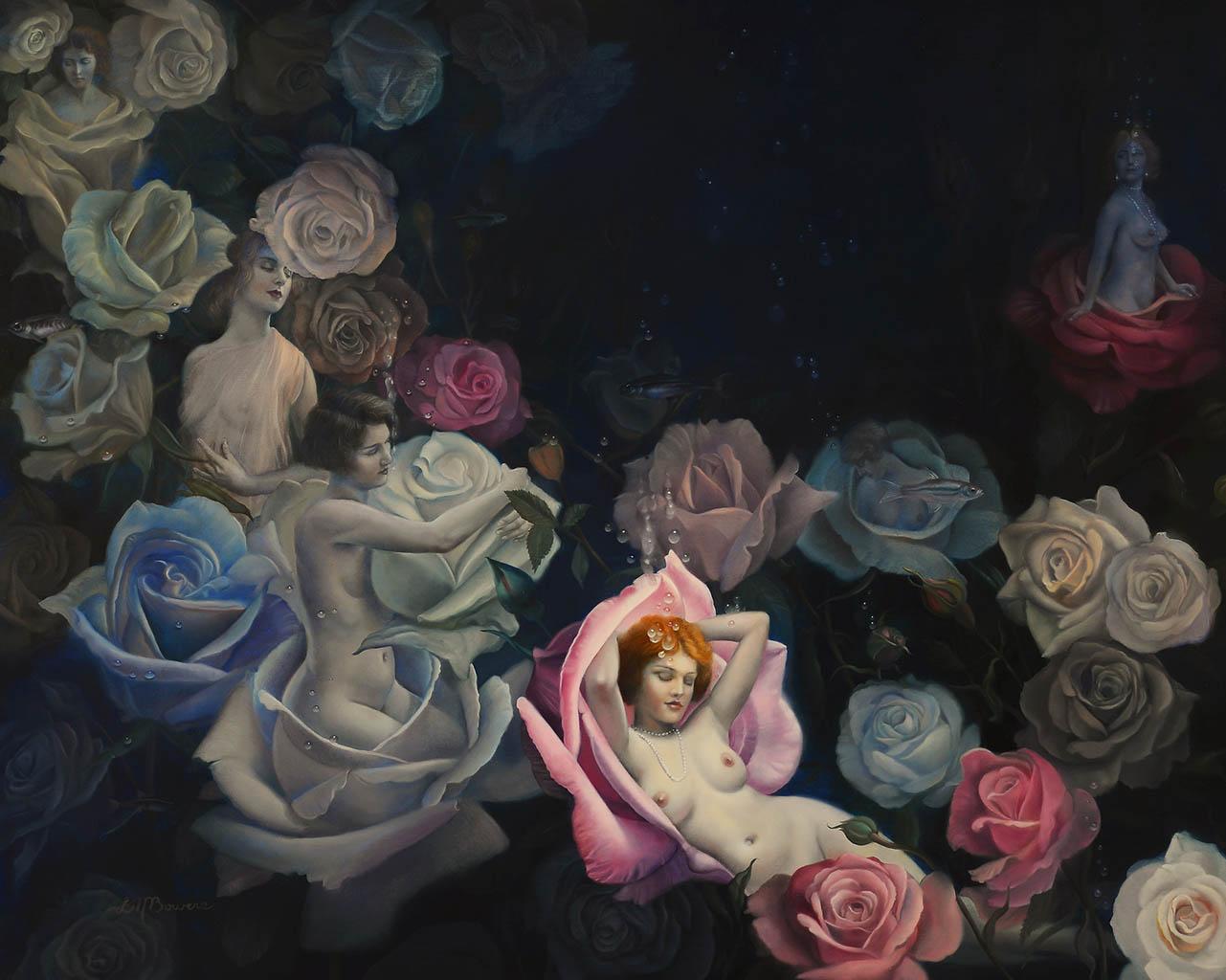 """Дэвид Бауэрс (David Bowers) """"Girls N' Roses"""""""