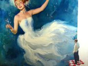 Альфред Лесли Буэлл (Al Buell), Admiring a Glamorous Woman