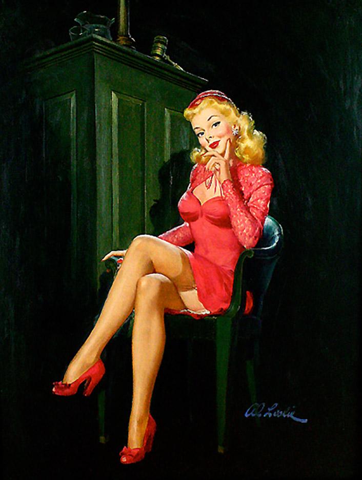 Альфред Лесли Буэлл (Al Buell), Untitle – 48