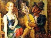 "Давид Бурлюк (David Burliuk) ""Poet and Muse"""