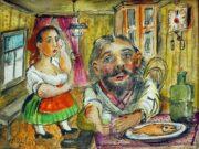 """Давид Бурлюк (David Burliuk) """"Tea time"""""""