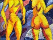 "Давид Бурлюк (David Burliuk) ""Women from tropics"""
