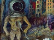 "Давид Бурлюк (David Burliuk) ""Surrealistic Composition"""