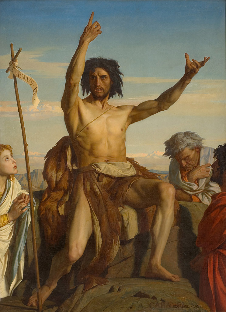 "Александр Кабанель (Alexandre Cabanel) ""Saint Jean-Baptiste"""