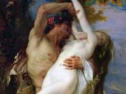 "Александр Кабанель (Alexandre Cabanel) ""Nymphe et Saty"""