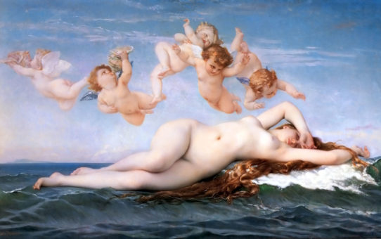 "Александр Кабанель (Alexandre Cabanel) ""The Birth of Venus"""