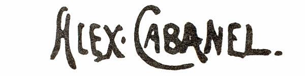 """Александр Кабанель (Alexandre Cabanel) """"Signature"""""""