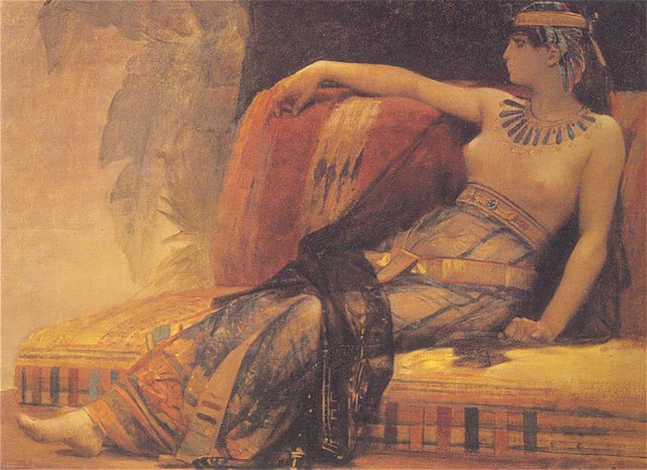 "Александр Кабанель (Alexandre Cabanel) ""Cleopatra"""