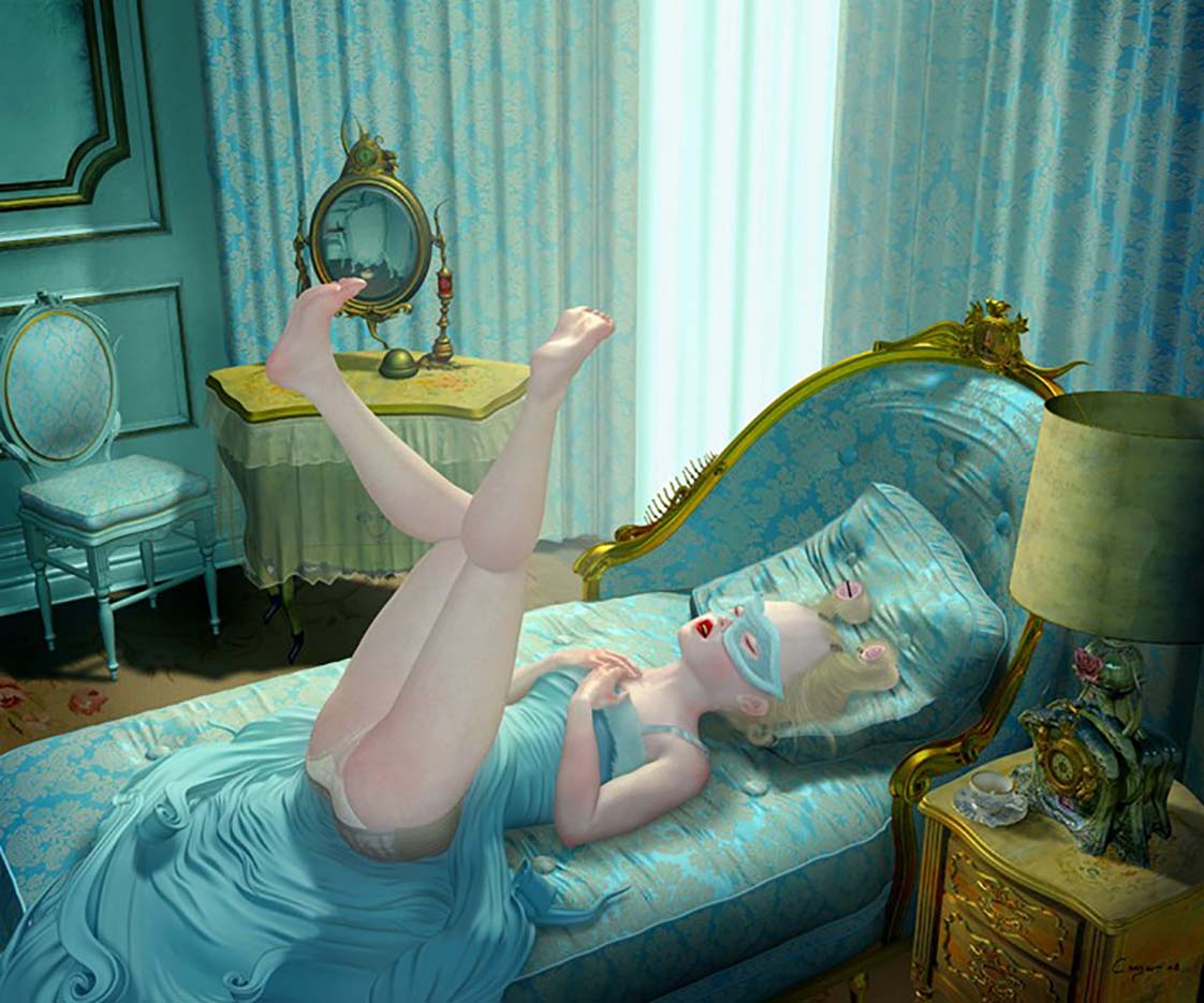 "Рэй Цезарь (Ray Caesar) ""Mourning Glory"""