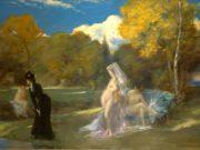 "Каролюс-Дюран (Carolus-Duran) ""Les baigneuses de Fontainebleau"""