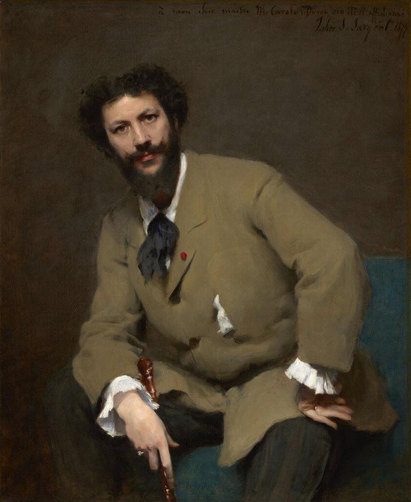 "Каролюс-Дюран (Carolus-Duran) ""Portrait of Carolus-Duran by John Singer Sargent"""