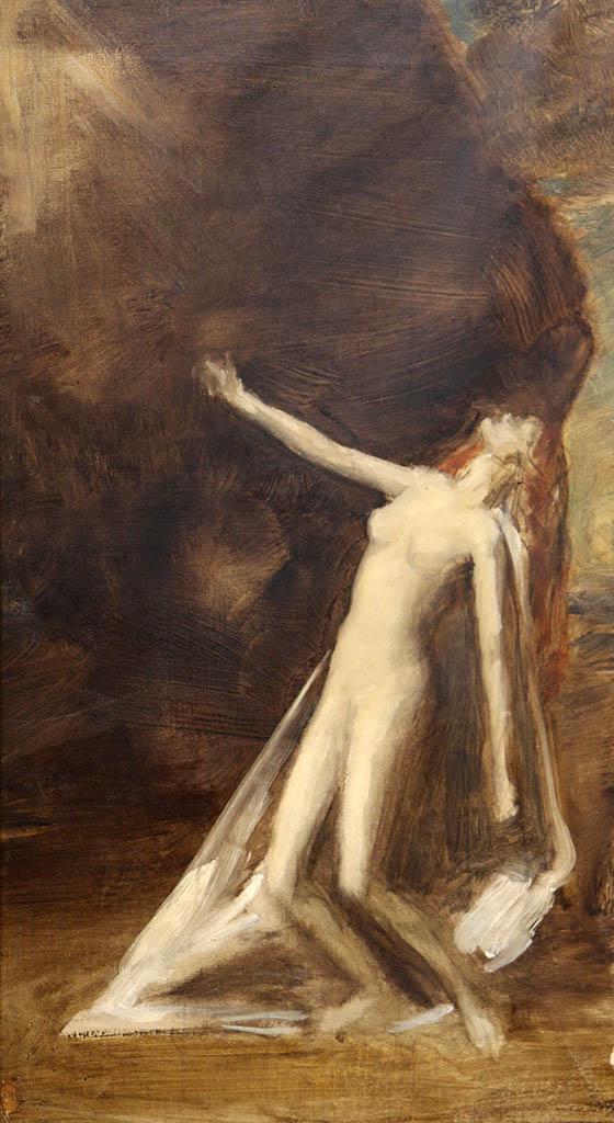 "Каролюс-Дюран (Carolus-Duran) ""Femme nue debout"""