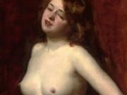 "Каролюс-Дюран (Carolus-Duran) ""Female Nude"""