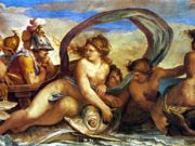 "Агостино Карраччи (Agostino Carracci) ""Thetis and Peleus"""