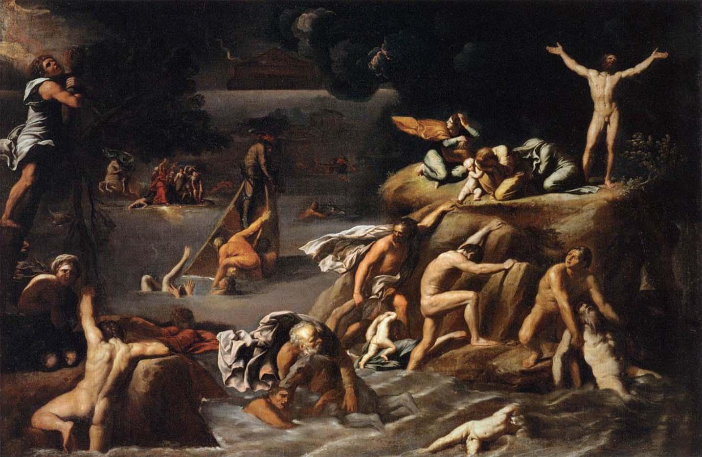 """Агостино Карраччи (Agostino Carracci) """"The Flood"""""""