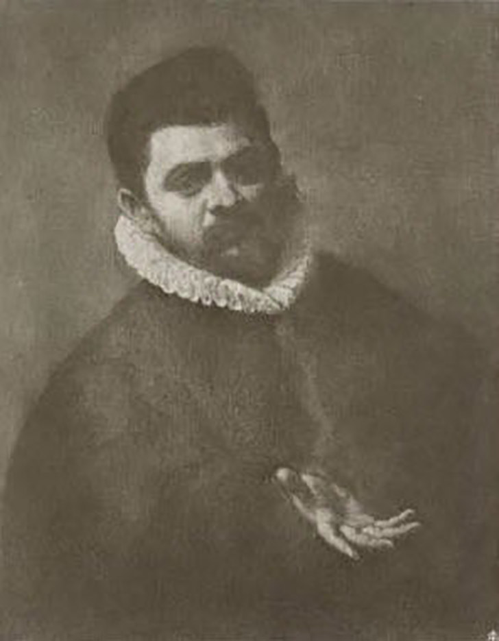 "Агостино Карраччи (Agostino Carracci) ""Portrait"""