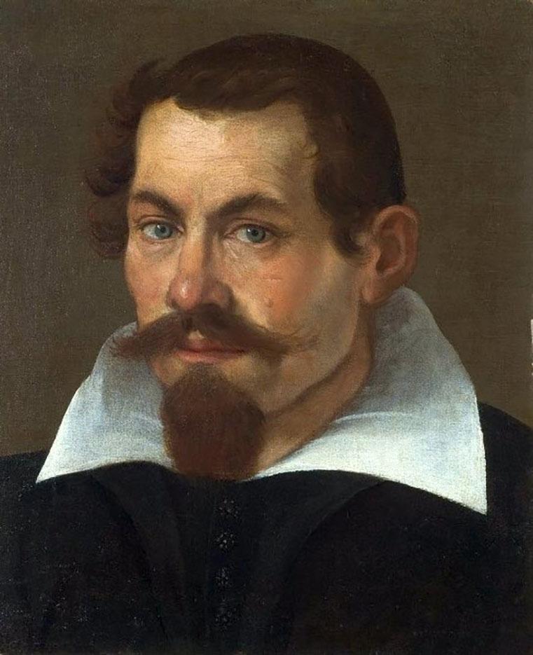 "Агостино Карраччи (Agostino Carracci) ""Self-portrait"""