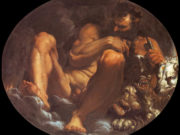 "Агостино Карраччи (Agostino Carracci) ""Pluto"""