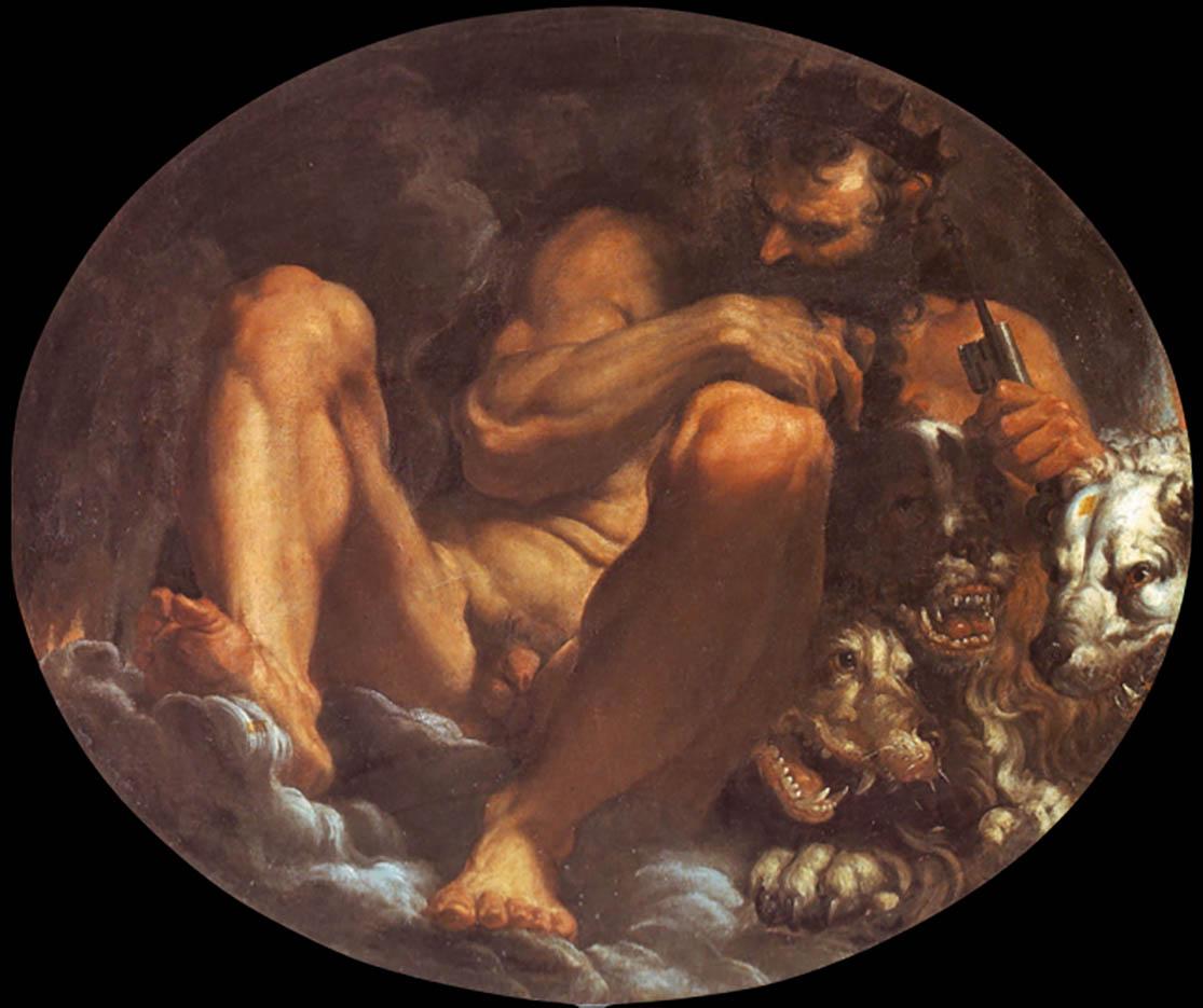 "Агостино Карраччи (Agostino Carracci) ""Pluto"""