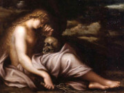 "Агостино Карраччи (Agostino Carracci) ""The Penitent Magdalene"""