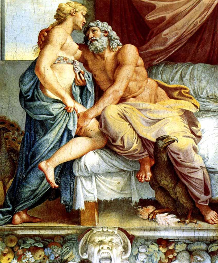 "Агостино Карраччи (Agostino Carracci) ""Jupiter et Junon"""