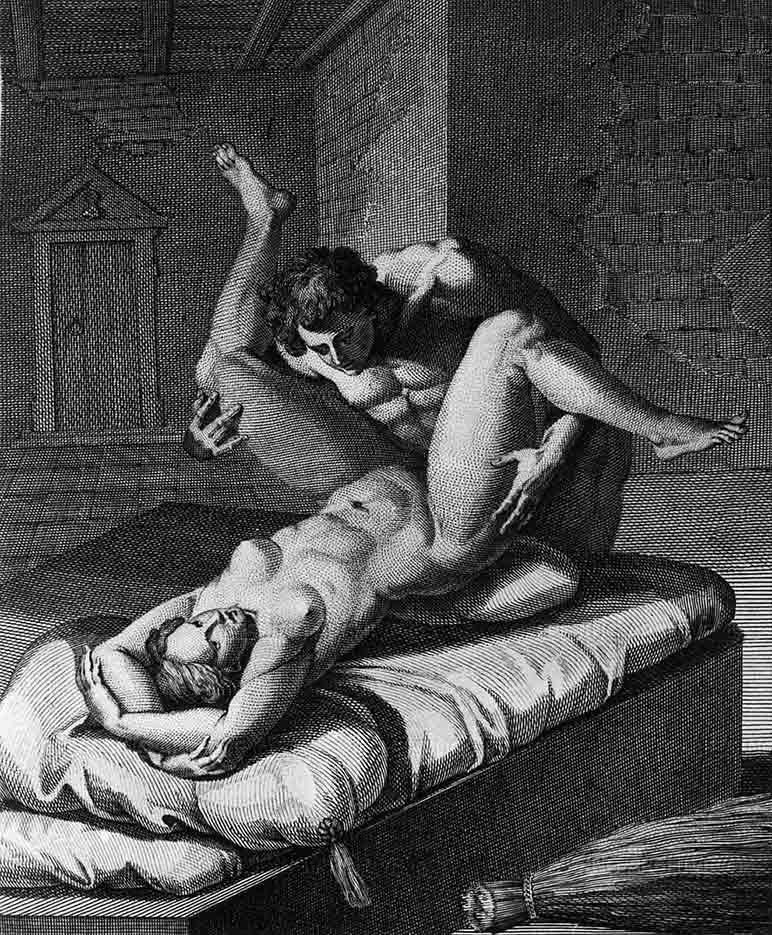 "Агостино Карраччи (Agostino Carracci) (Engraves) ""Полиен и Хрисеида | Polyenos et Chrisis"""
