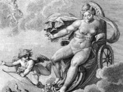 "Агостино Карраччи (Agostino Carracci) (Engraves) ""-Венера 