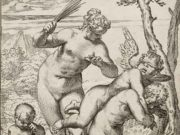 "Агостино Карраччи (Agostino Carracci) (Engraves) ""Venus Punishing Profane Love"""