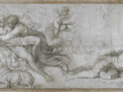 "Агостино Карраччи (Agostino Carracci) (Engraves) ""Aurora and Cephalus"""