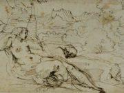 "Агостино Карраччи (Agostino Carracci) (Engraves) ""Penitent Magdalene"""