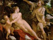 "Аннибале Карраччи (Annibale Carracci) ""Venus and Adonis"""