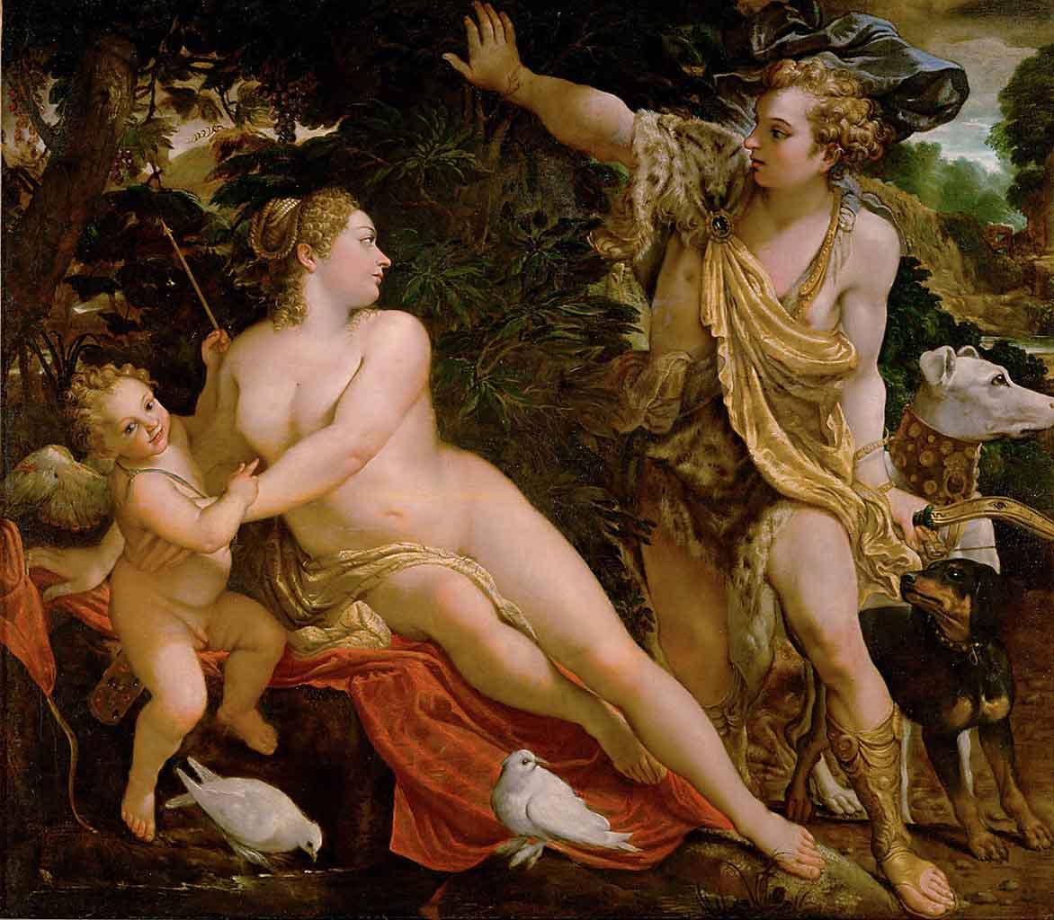 "Аннибале Карраччи (Annibale Carracci) ""Venus and Adonis"""