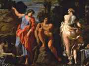 "Аннибале Карраччи (Annibale Carracci) ""The Choice of Heracles"""