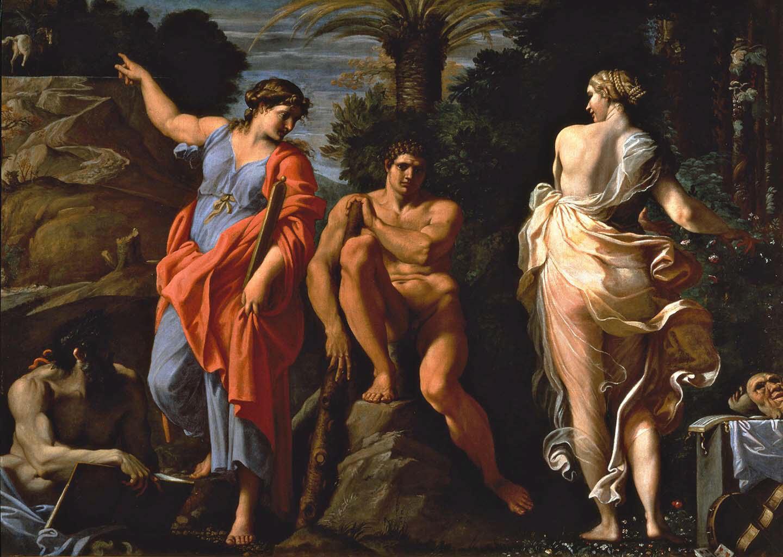 "Аннибале Карраччи (Annibale Carracci) ""The Choice of Heracles"""