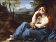 "Аннибале Карраччи (Annibale Carracci) ""The Penitent Magdalen in a Landscape"""