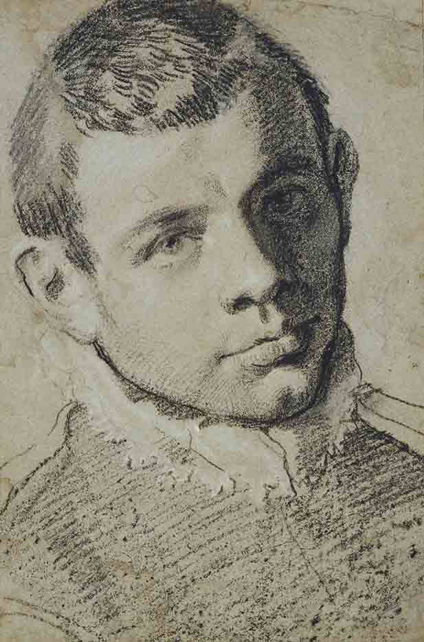 "Аннибале Карраччи (Annibale Carracci) ""Presumed self-portrait"""