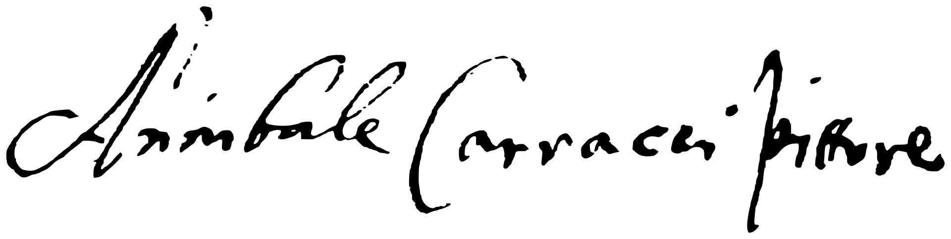 "Аннибале Карраччи (Annibale Carracci) ""Signature"""