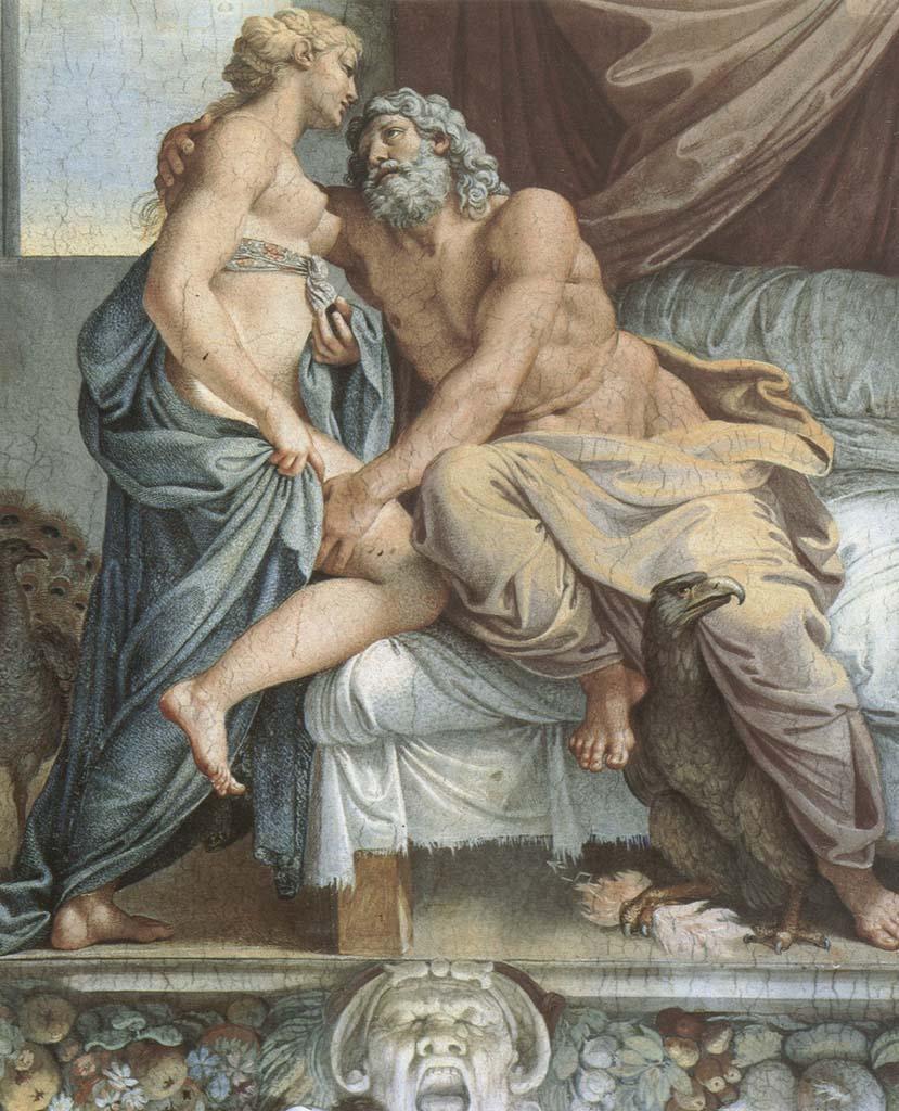 "Аннибале Карраччи (Annibale Carracci) ""Jupiter and Juno"""