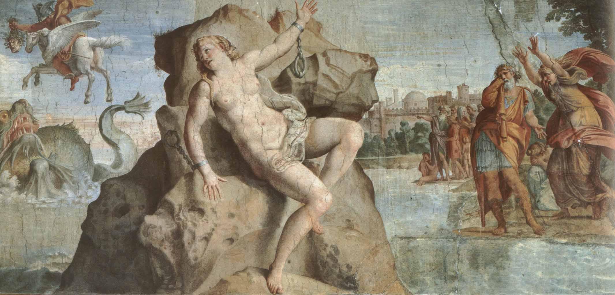 "Аннибале Карраччи (Annibale Carracci) ""Perseus and Andromeda"""