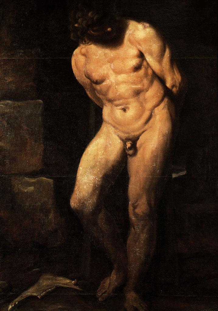 "Аннибале Карраччи (Annibale Carracci) ""Samson imprisoned"""