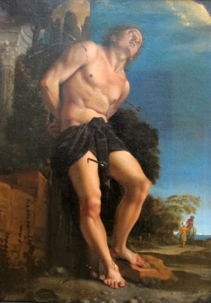 "Лодовико Карраччи (Lodovico Carracci) ""San Sebastiano"""