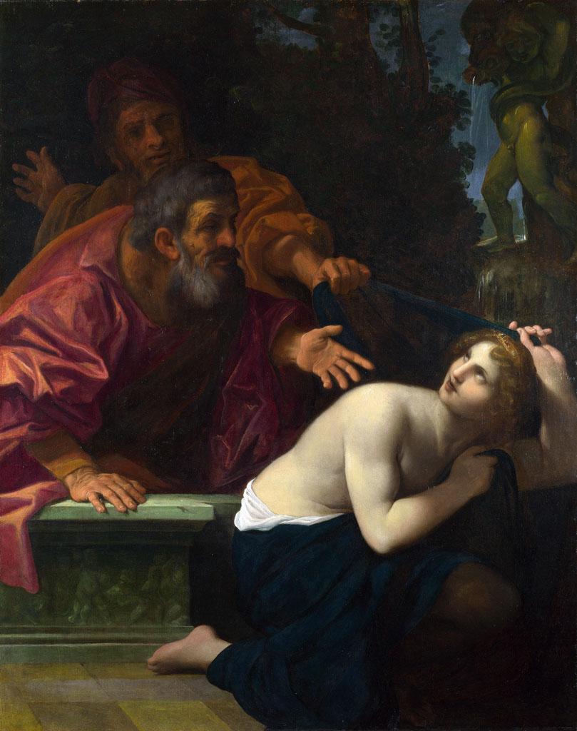 "Лодовико Карраччи (Lodovico Carracci) ""Susannah and the Elders"""