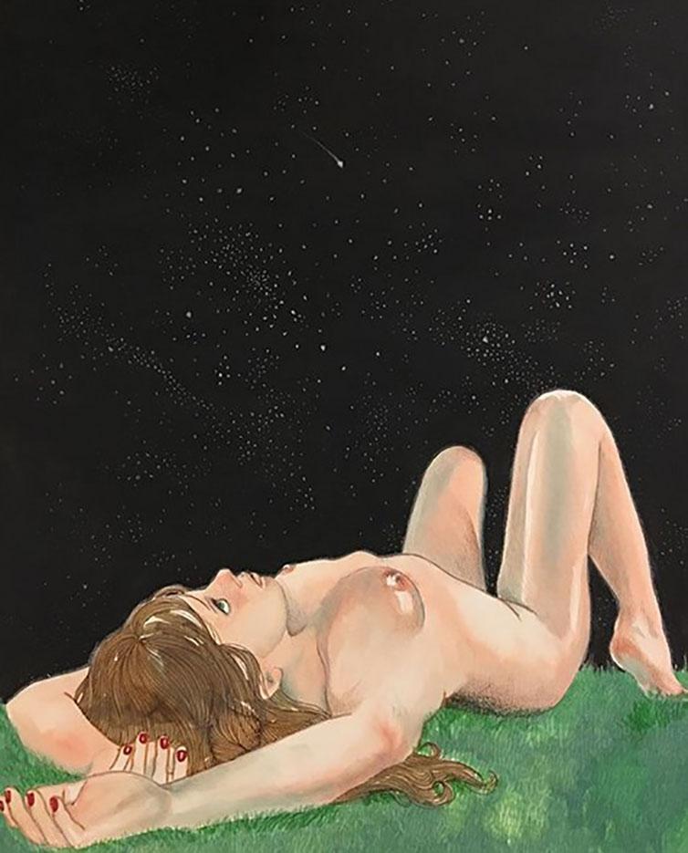 "Фрида Кастелли (Frida Castelli) ""Comete (mi manchi che ormai mi si legge in faccia)"""