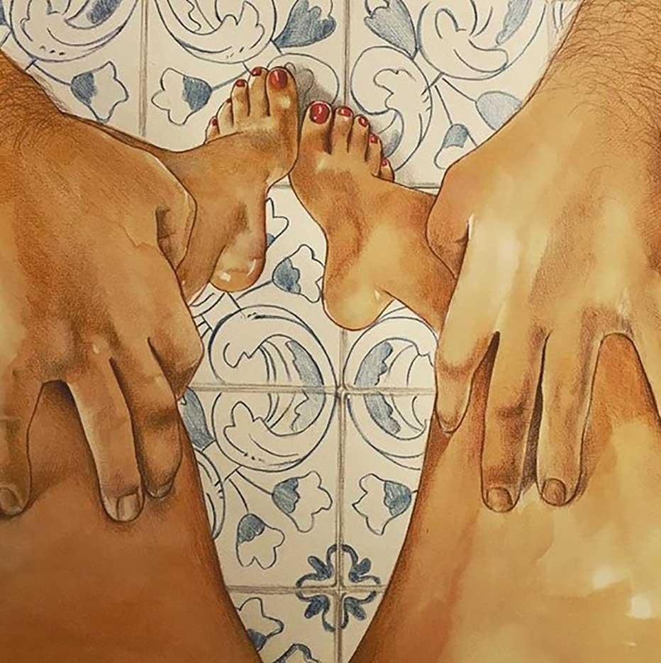 "Фрида Кастелли (Frida Castelli) ""llustration - 154"""