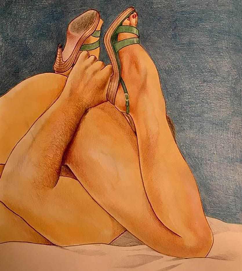 "Фрида Кастелли (Frida Castelli) ""45°29'04.55"" Nord, 9°11'15.35"" Est."""